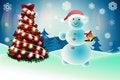 Free Snowman Royalty Free Stock Photo - 22159245