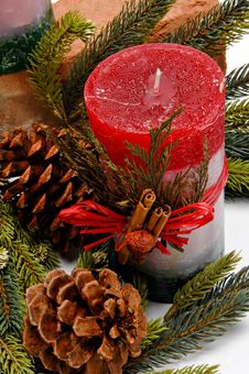 Free Christmas Candle Stock Photos - 22151103