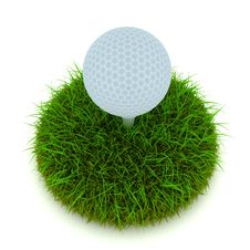 Free Golf Ball Stock Image - 22151521