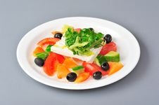 Free Greek Salad Royalty Free Stock Image - 22151546