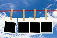 Free Blank Photo Frames Stock Image - 22152121