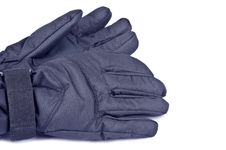 Free Black Nylon Gloves Stock Photo - 22152380