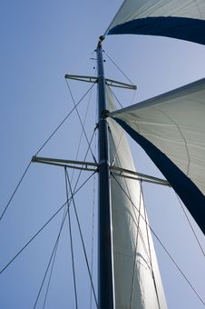 Free Sails And Mast Stock Photography - 22155742