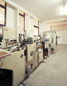 Free Printing Machine Stock Photography - 22156972
