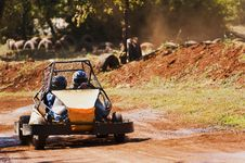 Free Driving A Buggy Stock Photography - 22156992