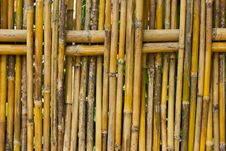 Free Bamboo Fence Stock Images - 22157114