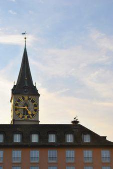 Free Fraumunster Abbey, Zurich Stock Photo - 22159230
