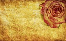 Free Textured Rose Royalty Free Stock Image - 22159306
