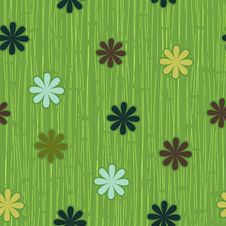 Free Spring Flowers Seamless Pattern In Vector Stock Images - 22169134