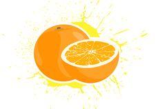 Free Yummy Oranges Royalty Free Stock Images - 22169819