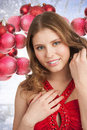 Free Christmas Winter Woman Royalty Free Stock Images - 22175079