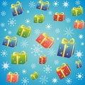 Free Blue Christmas Background Royalty Free Stock Image - 22176676