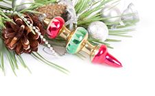 Free Christmas Background With Old Decoration Stock Photo - 22170390