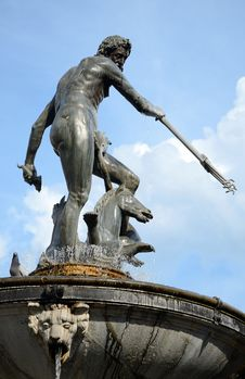 Free Gdansk City S Symbolic Neptune Monument Stock Photography - 22170972