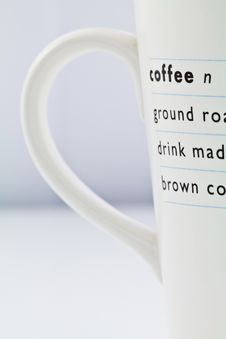 Free Part Of Coffee S Cup Royalty Free Stock Photos - 22176058