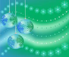 Free Christmas Balls Royalty Free Stock Photography - 22177367
