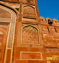 Free Gate At Red Fort Of Agra Royalty Free Stock Photo - 22180445