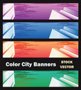 Free Banners On City Theme Stock Image - 22184291