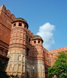 Free Agra Fort In India Stock Image - 22180311