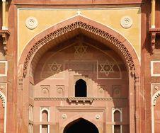 Free Detail Of Jahangiri Mahal Gate Stock Images - 22180364