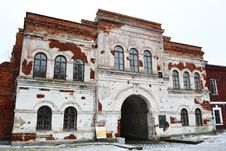 Free Old Gate In Brest Fortress Stock Photos - 22180803