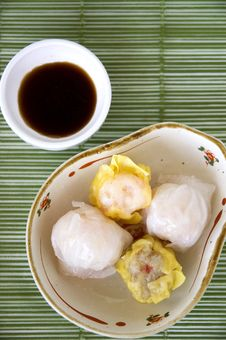 Free Dimsum On Top Royalty Free Stock Photography - 22181107