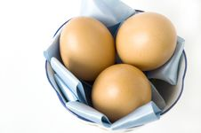 Free Close Up Eggs On Pan Stock Image - 22181111