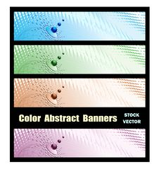 Free Abstract Banners Royalty Free Stock Photos - 22184278