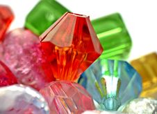 Free Colorful Beads Royalty Free Stock Photography - 22184777