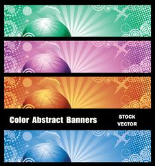 Free Abstract Banners Royalty Free Stock Image - 22185116