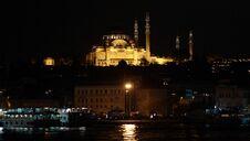 Free Suleymaniye Mosque At Night. Stock Image - 22187621