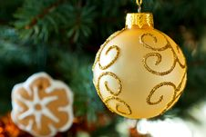 Free Christmas Ornament Royalty Free Stock Photography - 22188527