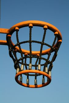 Free Basketball Basket Royalty Free Stock Photo - 22190025