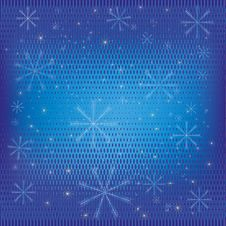 Free Abstract Winter Background Blue Stock Images - 22191794