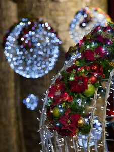 Free Christmas Decoration, Abstract Royalty Free Stock Image - 22192226