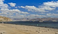 Free View On Aqaba Gulf Near Coral Reefs, Eilat, Israel Stock Photos - 22194803