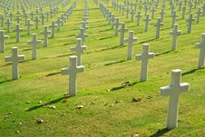American Cemetery Stock Photos