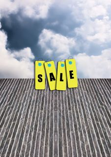 Free Tag Sale Stock Image - 22196081