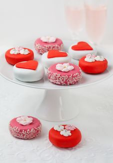 Free Petit Fours For Holiday Stock Image - 22197131