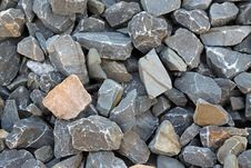 Free Piles Of Gray Stone Royalty Free Stock Photography - 22199037