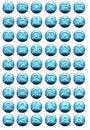 Free Blue Sky Buttons Stock Photos - 2229493
