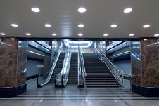 Free Moscow Subway Station Stock Photos - 2221353