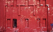 Free Old Red Wall Stock Image - 2222851