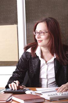 Smart Woman Royalty Free Stock Photos