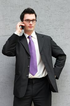 Free Businessman On The Phone Stock Photography - 2226402