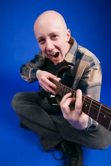 Free The Musician Smiles Stock Photos - 2228233