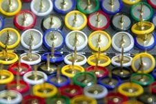 Free Thumbtack Reflections Stock Image - 2228981
