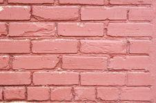 Free Painted Brick Wall Horizontal Stock Photography - 2229592