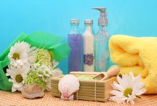 Free Spa Products Royalty Free Stock Images - 2229969
