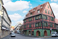 Free Typical Medieval And Alsacien Wooden House Stock Photography - 22206222